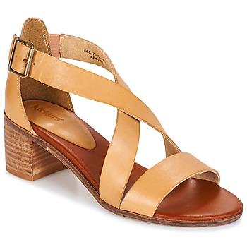 鞋子 女士 凉鞋 Kickers VOLTAX 米色