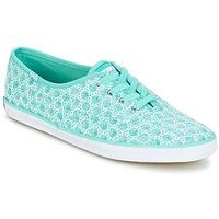 鞋子 女士 球鞋基本款 Keds CH EYELET 淺綠色