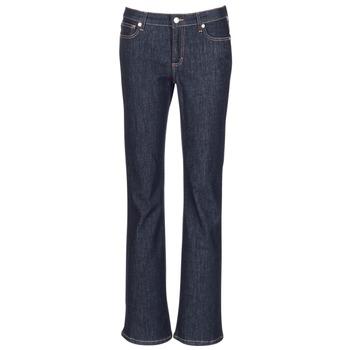 衣服 女士 喇叭牛仔裤 Yurban HEKIKOU BOOTCUT 蓝色