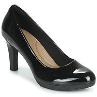 鞋子 女士 高跟鞋 Clarks 其乐 ADRIEL VIOLA 黑色 / Pat