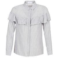 衣服 女士 衬衣/长袖衬衫 Moony Mood HALIS 白色