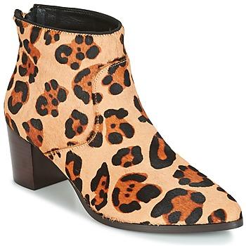 鞋子 女士 短靴 Bocage MELODY Leopard