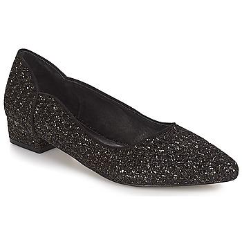 鞋子 女士 平底鞋 Ravel  黑色-glitter