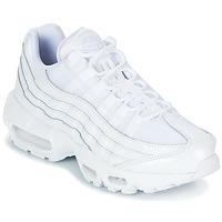 鞋子 女士 球鞋基本款 Nike 耐克 AIR MAX 95 W 白色