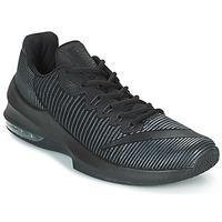 鞋子 男士 篮球 Nike 耐克 AIR MAX INFURIATE 2 LOW 黑色