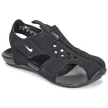 鞋子 儿童 拖鞋 Nike 耐克 SUNRAY PROTECT 2 TODDLER 黑色 / 白色