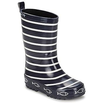 鞋子 兒童 雨靴 Be Only TIMOUSS 海藍色
