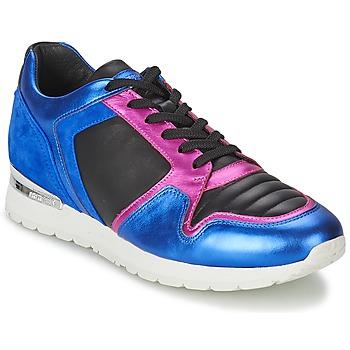 鞋子 女士 球鞋基本款 Bikkembergs KATE 420 蓝色 / 紫红色