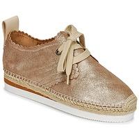 鞋子 女士 帆布便鞋 See by Chloé SB30222 金色