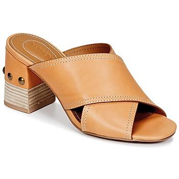 鞋子 女士 休闲凉拖/沙滩鞋 See by Chloé SB30083 驼色