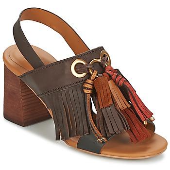 鞋子 女士 凉鞋 See by Chloé SB30102 棕色