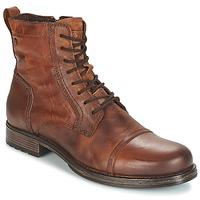 鞋子 男士 短筒靴 Jack & Jones 杰克琼斯 RISSOL 棕色