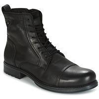 鞋子 男士 短筒靴 Jack & Jones 杰克琼斯 RISSOL 黑色