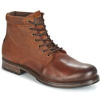 鞋子 男士 短筒靴 Jack & Jones 杰克琼斯 JUSTIN 棕色