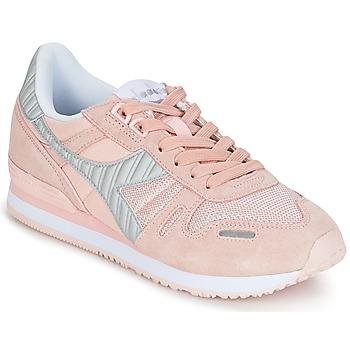 鞋子 女士 球鞋基本款 Diadora 迪亚多纳 TITAN II W 玫瑰色