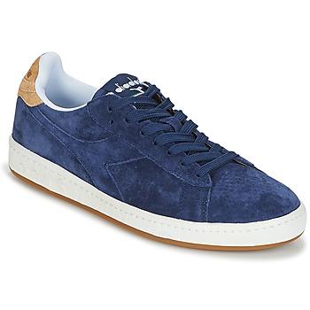 鞋子 男士 球鞋基本款 Diadora 迪亚多纳 GAME LOW SUEDE 蓝色