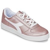 鞋子 女士 球鞋基本款 Diadora 迪亚多纳 B ELITE I METALLIC WN 古銅色