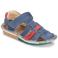 鞋子 男孩 凉鞋 El Naturalista KIRI 蓝色 / 红色