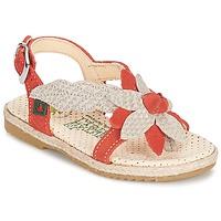 鞋子 女孩 凉鞋 El Naturalista SAMOA 橙色 / 浅米色