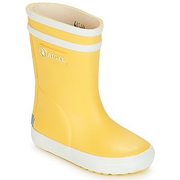 鞋子 儿童 雨靴 Aigle BABY FLAC 黄色