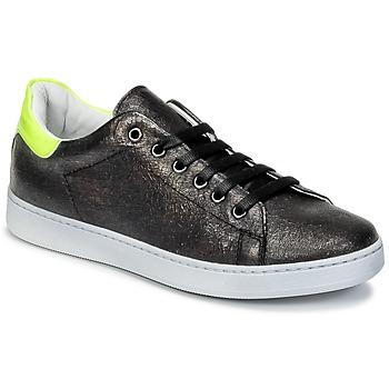 鞋子 儿童 球鞋基本款 Young Elegant People EDENI 黑色 / 黄色 / Fluo