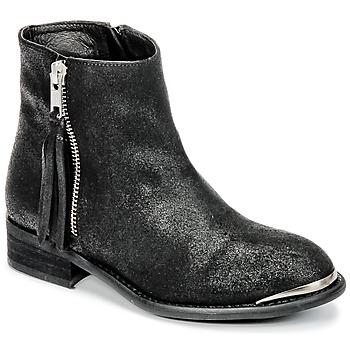 鞋子 女孩 短筒靴 Young Elegant People AMELIAM 黑色