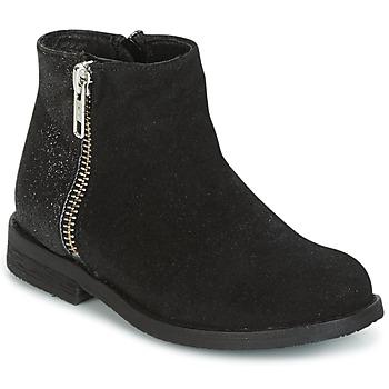 鞋子 女孩 短筒靴 Young Elegant People FABIOLAD 黑色