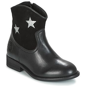 鞋子 女孩 短筒靴 Young Elegant People FARAHI 黑色
