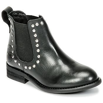 鞋子 女孩 短筒靴 Young Elegant People FOSTINET 黑色