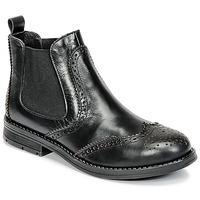 鞋子 女孩 短筒靴 Young Elegant People JOSEPHI 黑色