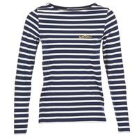 衣服 女士 长袖T恤 Betty London IFLIGEME 海蓝色 / 白色