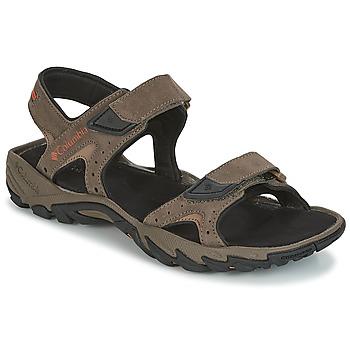 鞋子 男士 运动凉鞋 Columbia 哥伦比亚 SANTIAM 2 STRAP 棕色