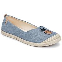 鞋子 女士 帆布便鞋 Roxy 罗克西 FLORA II J SHOE CHY 蓝色