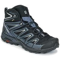 鞋子 男士 登山 Salomon 萨洛蒙 X ULTRA 3 MID GTX® 黑色