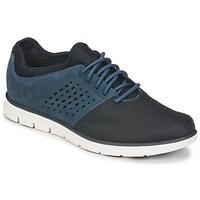 鞋子 男士 球鞋基本款 Timberland 添柏岚 BRADSTREET F/L OXFORD 海蓝色