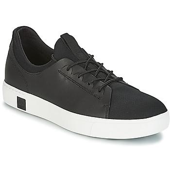 鞋子 男士 球鞋基本款 Timberland 添柏岚 AMHERST LTHR LTT SNEAKER 黑色
