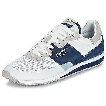 鞋子 男士 球鞋基本款 Pepe jeans GARRET SAILOR 白色 / 蓝色