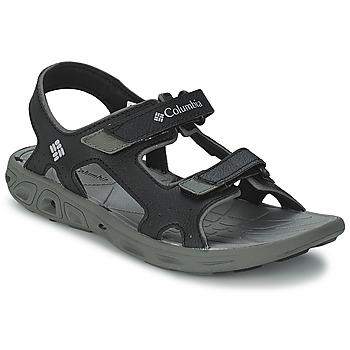 鞋子 儿童 运动凉鞋 Columbia 哥伦比亚 YOUTH TECHSUN VENT 黑色