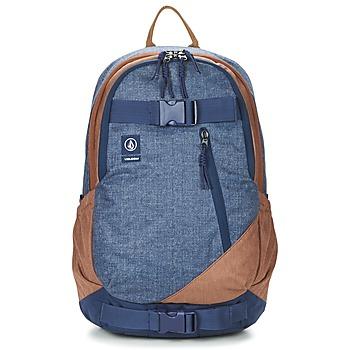 包 男士 双肩包 Volcom SUBSTRATE 海蓝色 / 棕色