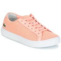 鞋子 女士 球鞋基本款 Lacoste L.12.12 LIGHTWEIGHT1181 玫瑰色