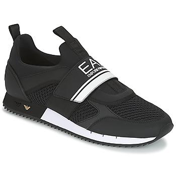 鞋子 男士 球鞋基本款 EA7 EMPORIO ARMANI BLACK & WHITE U 黑色