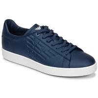 鞋子 男士 球鞋基本款 EA7 EMPORIO ARMANI CLASSIC U 蓝色