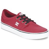 鞋子 男士 球鞋基本款 DC Shoes TRASE TX MEN 红色 / 黑色