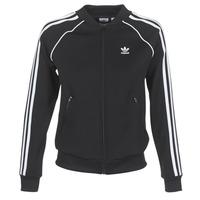 衣服 女士 运动款外套 Adidas Originals 阿迪达斯三叶草 SST TT 黑色
