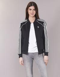 衣服 女士 運動款外套 Adidas Originals 阿迪達斯三葉草 SST TT 黑色