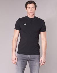 衣服 男士 短袖保罗衫 adidas Performance 阿迪达斯运动训练 CON18 CO POLO 黑色