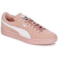 鞋子 女士 球鞋基本款 Puma 彪马 SUEDE CLASSIC W'S 玫瑰色 / 白色