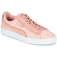 鞋子 女士 球鞋基本款 Puma 彪马 BASKET SATIN EP WN'S 玫瑰色