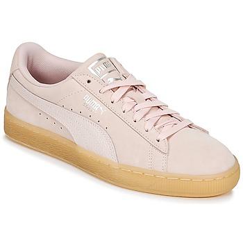 鞋子 女士 球鞋基本款 Puma 彪马 SUEDE CLASSIC BUBBLE W'S 玫瑰色
