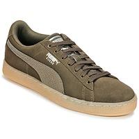 鞋子 女士 球鞋基本款 Puma 彪马 SUEDE CLASSIC BUBBLE W'S 黑色 / 灰色